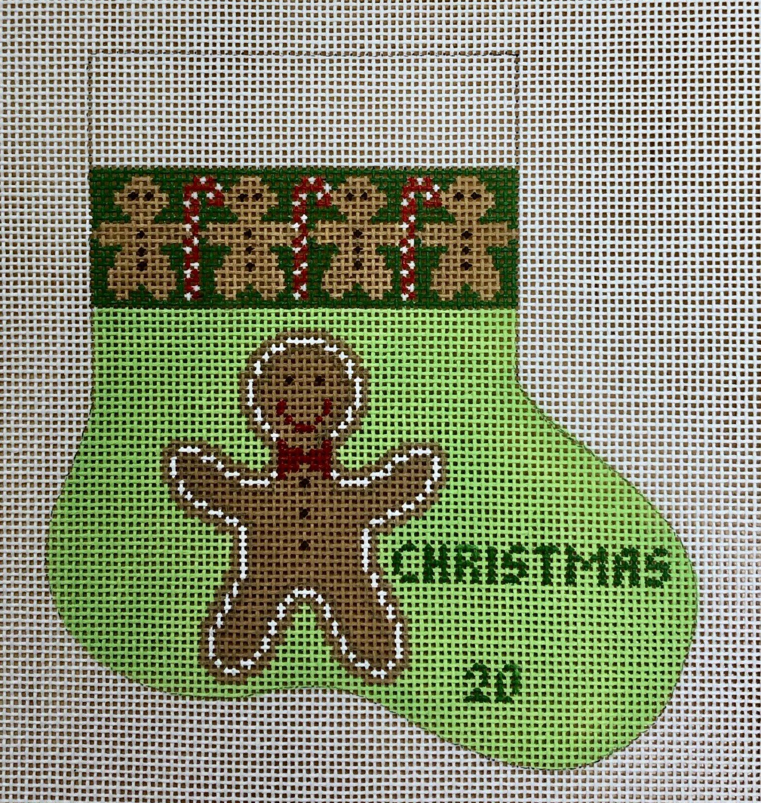 gingerbread mini sock