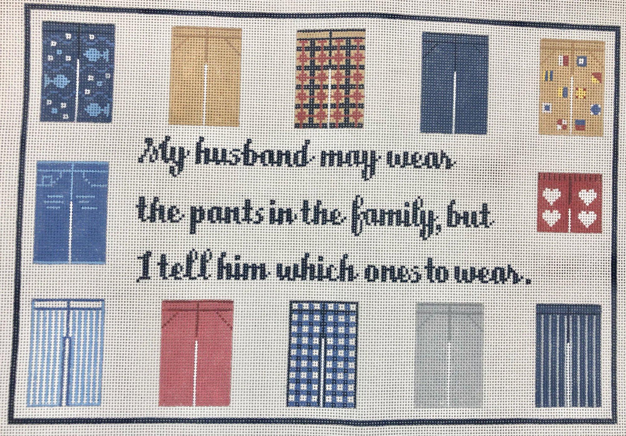 my husband may wear...