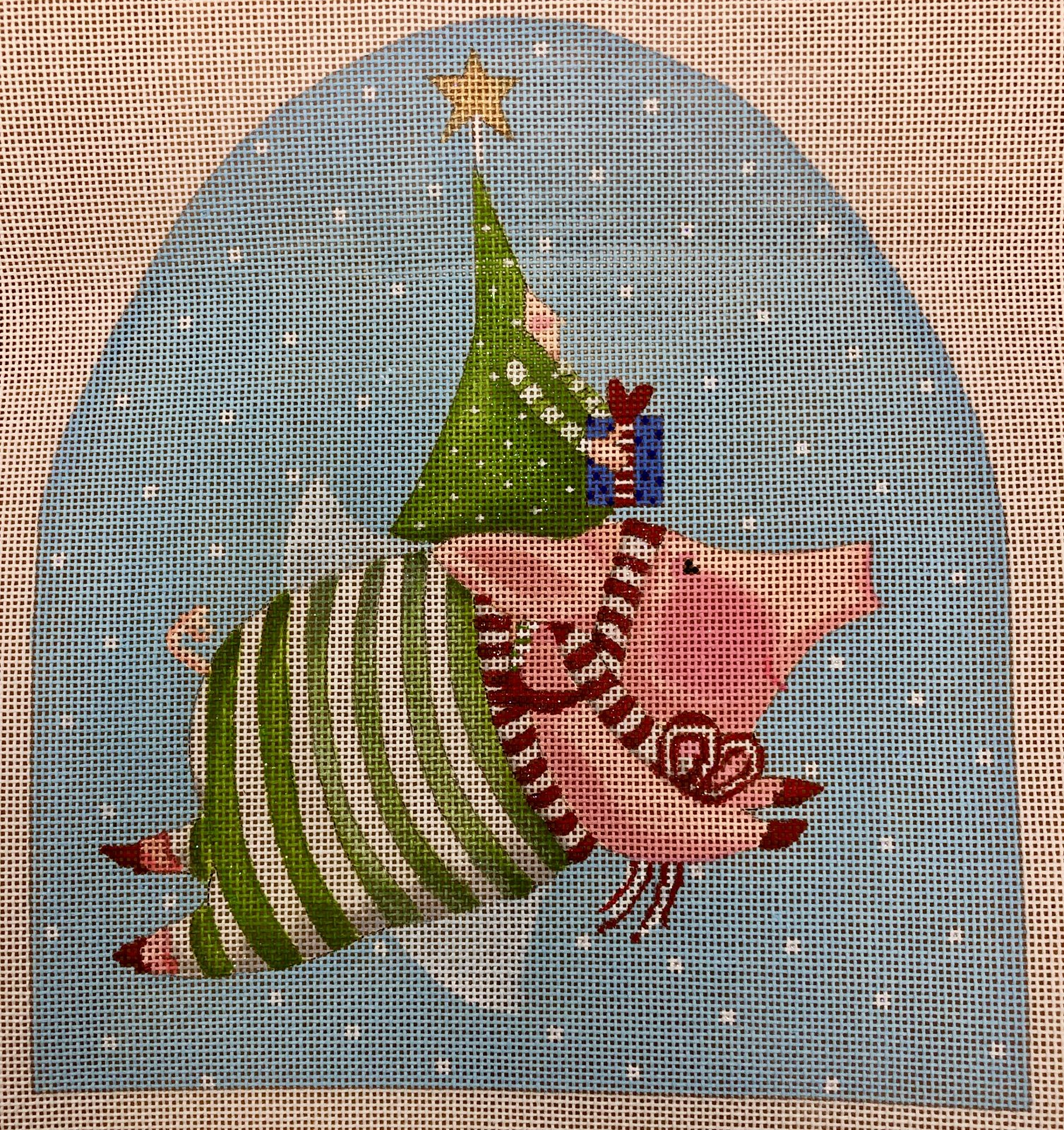 joyful flying pig