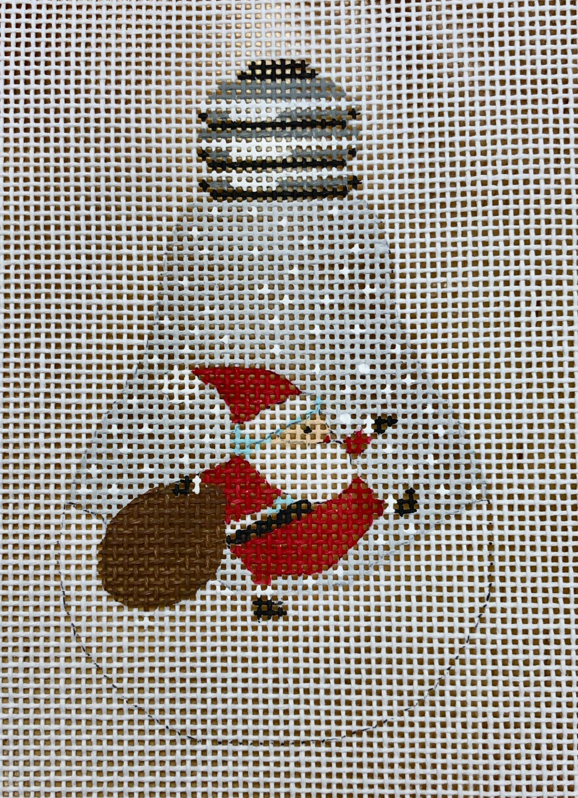 lightbulb w  santa & bag