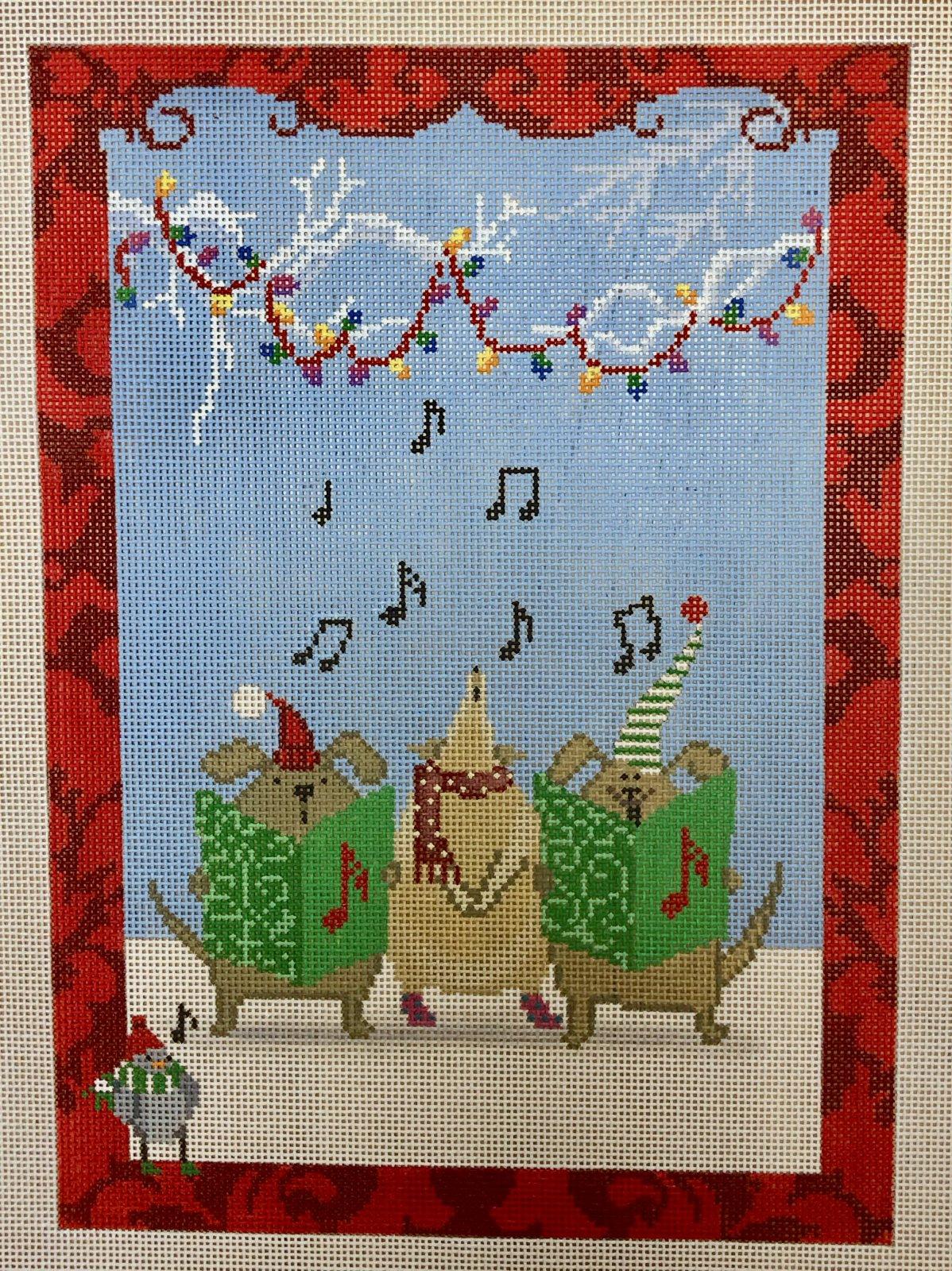 animal christmas choir
