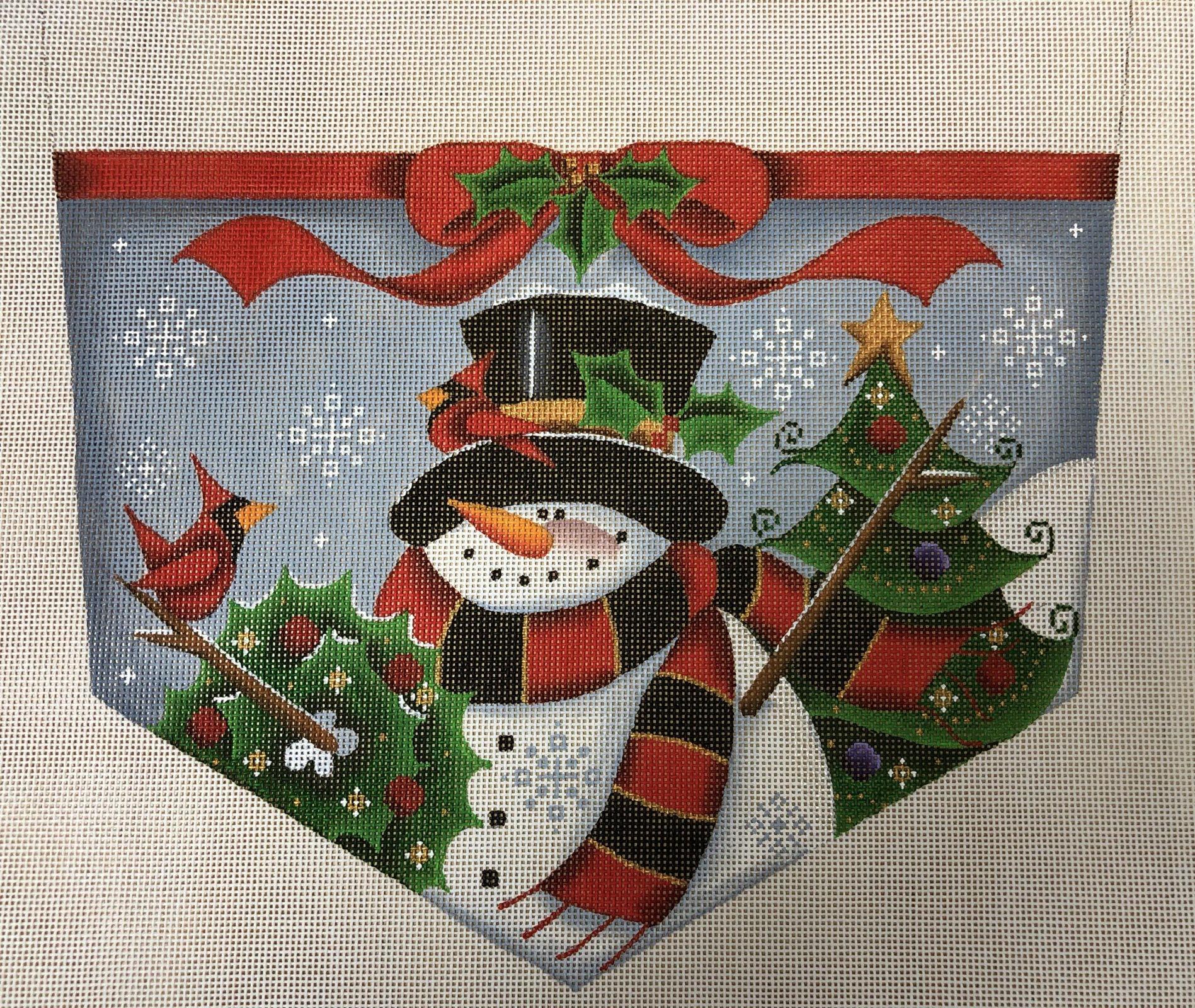 happy snowman cuff