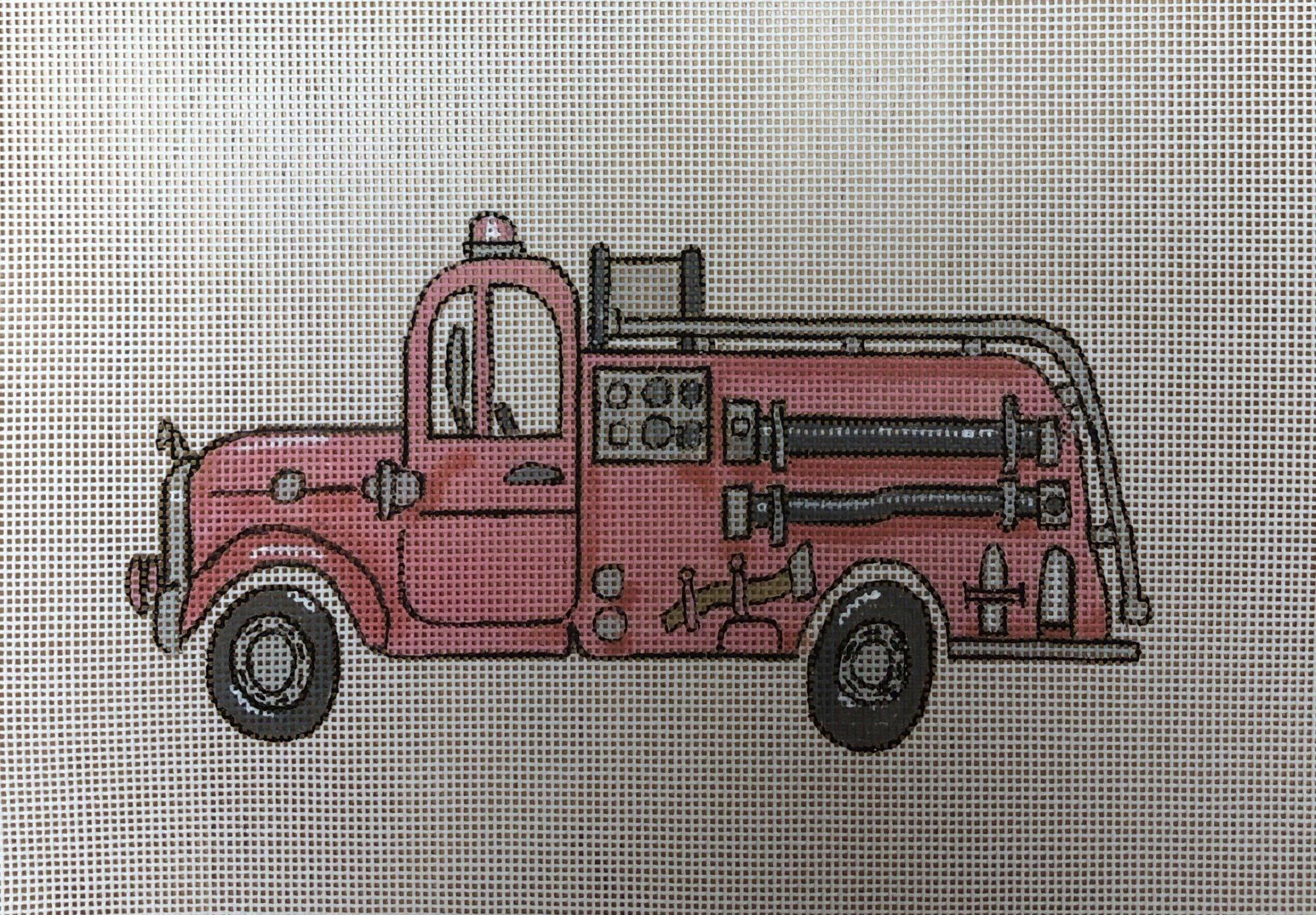firetruck w alphabet
