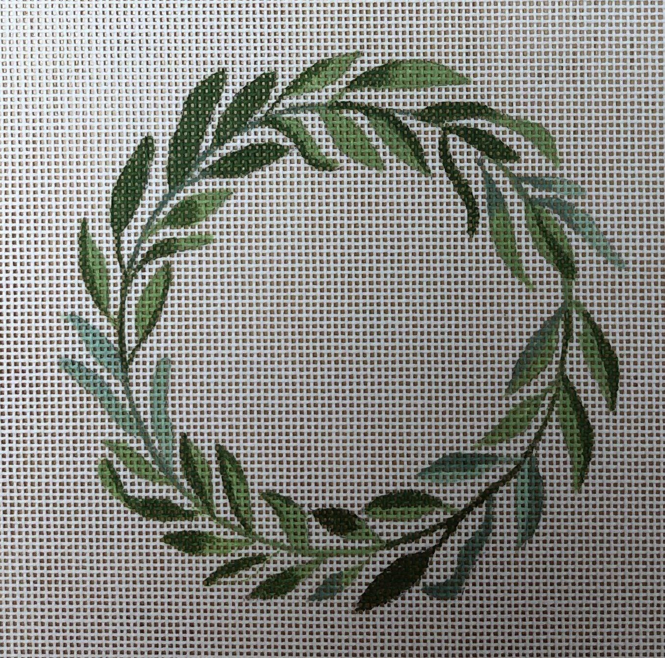 laurel wreath w alphabet