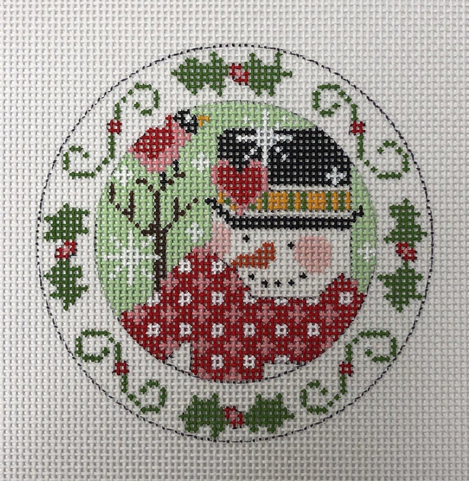snowman holly