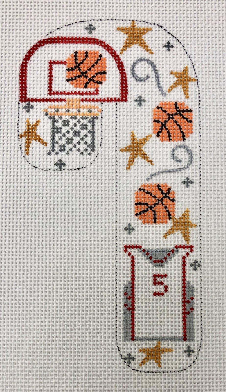 basketball candy cane