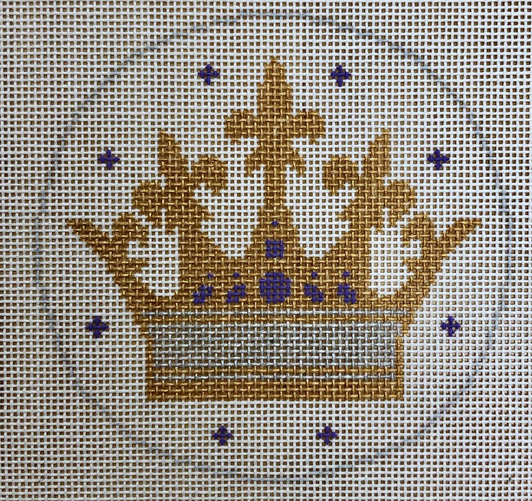 crown w blue