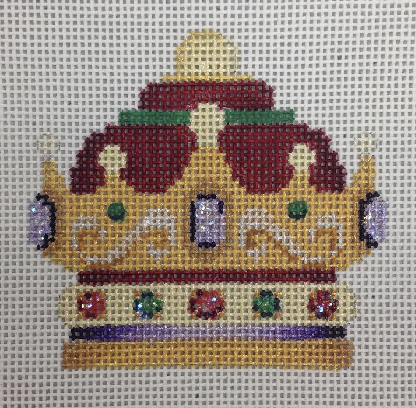 burgundy crown***