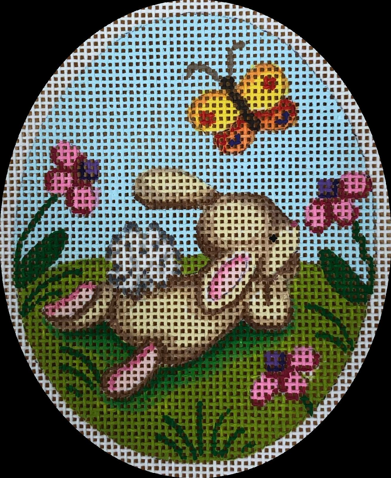 bunny w butterfly