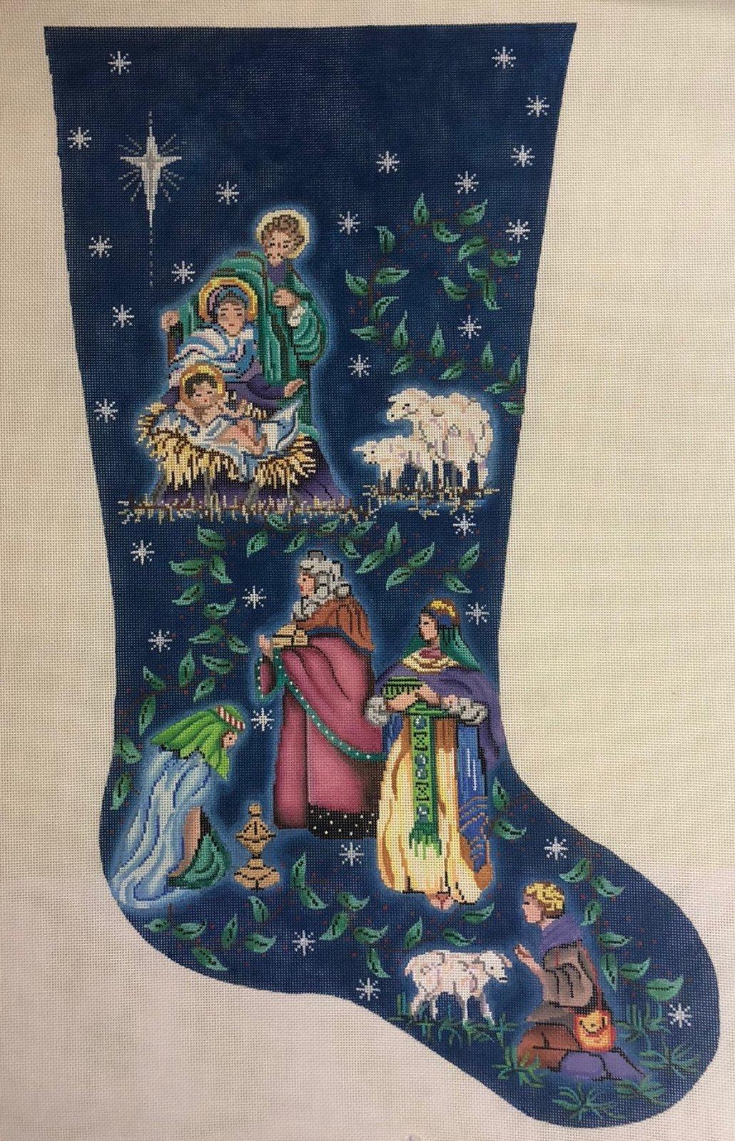 nativity stocking