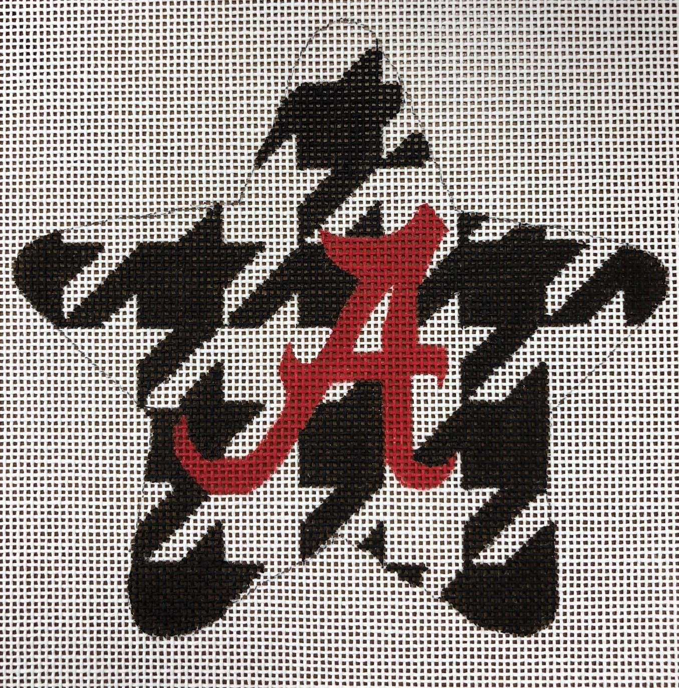 alabama houndstooth star