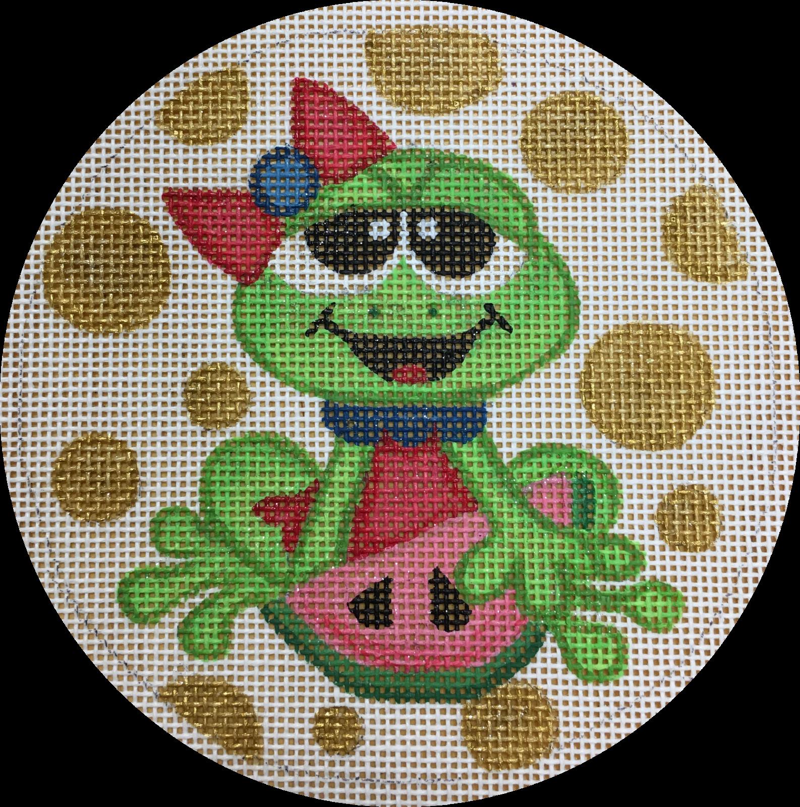 frog watermelon