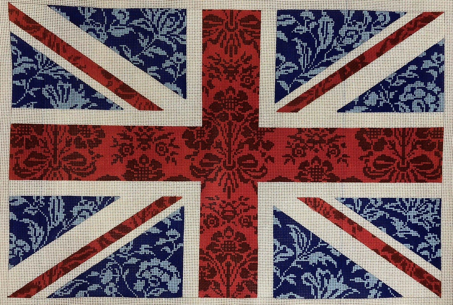 floral flag union jack*