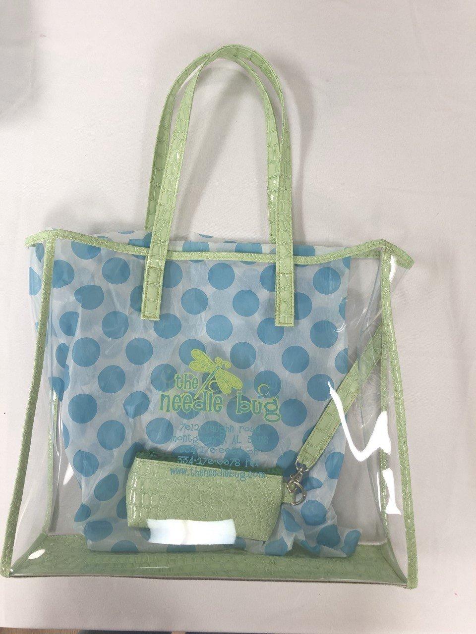 designer tote w detachable purse