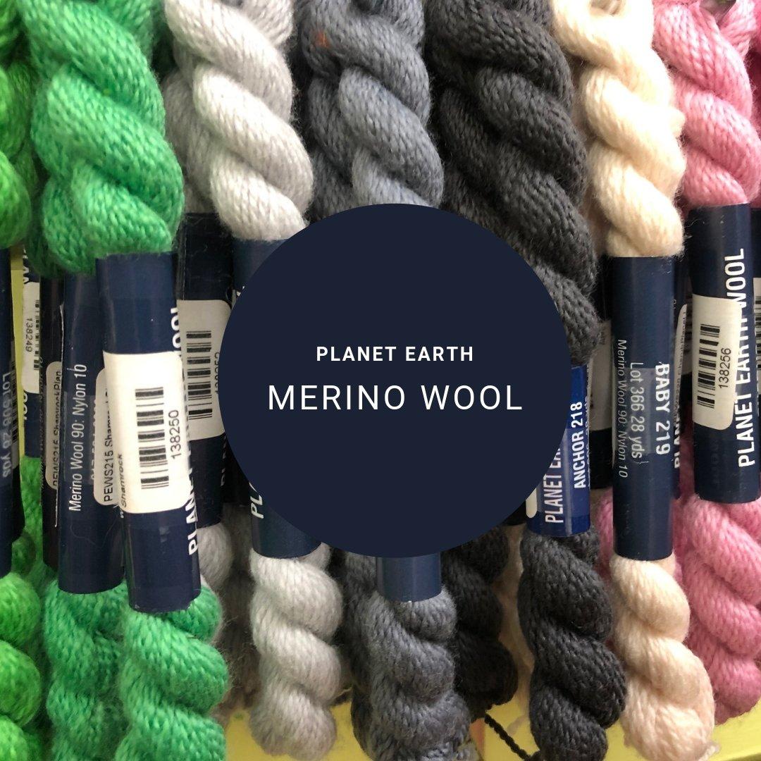 planet earth merino wool