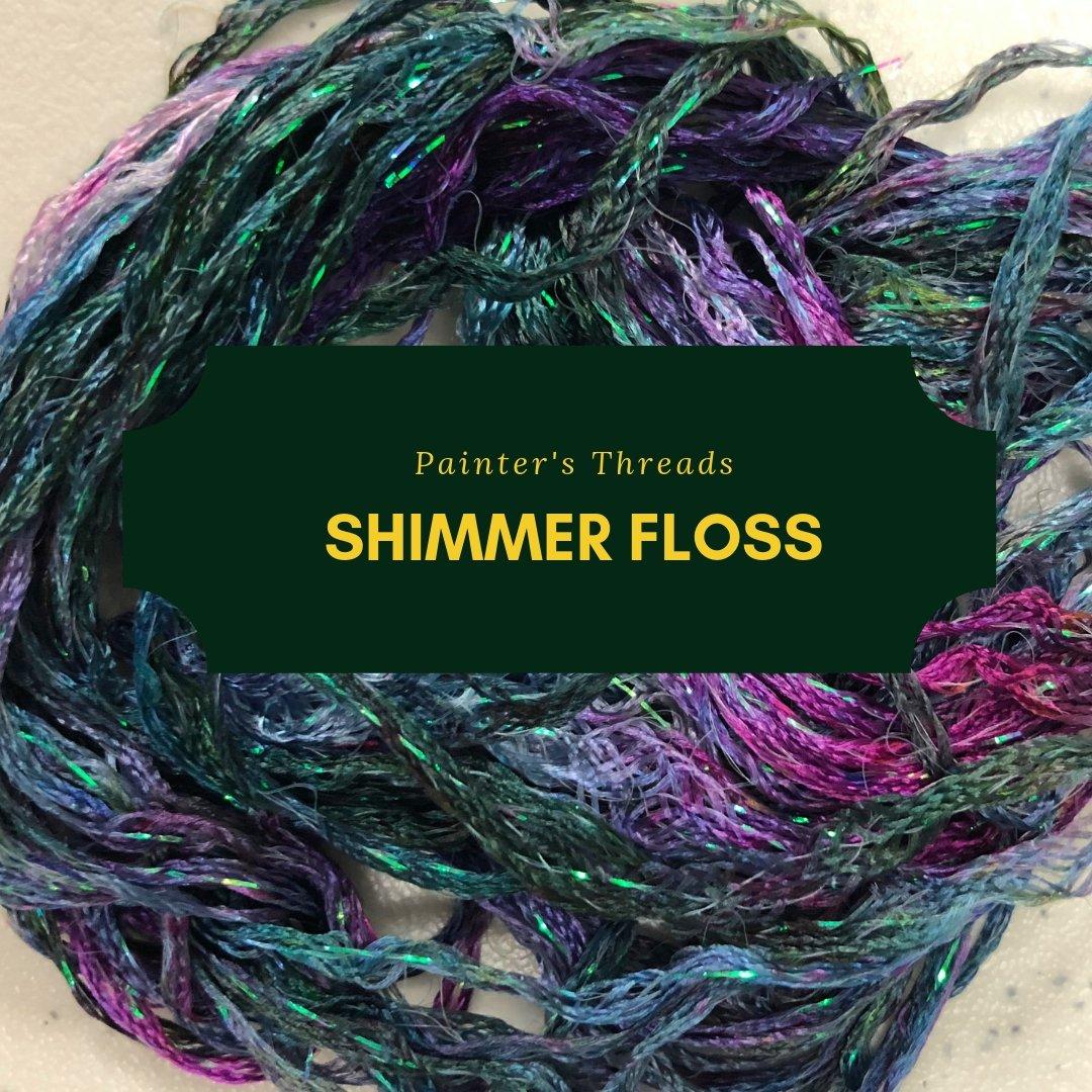 painter's threads shimmer floss