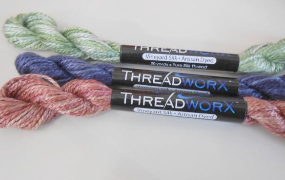 threadworX  overdyed classic silk