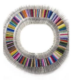silk lame braid 18
