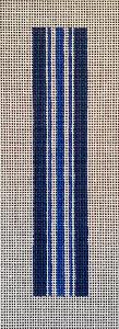 blue stripe key fob