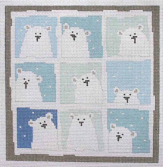 polar bear, nine