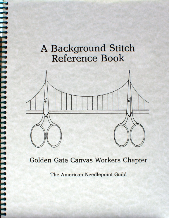 background stitch reference book