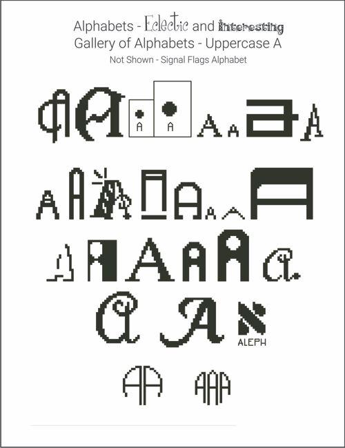 alphabet books (5 styles)