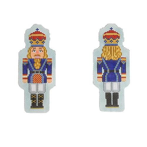 nutcracker, royal blue double-sided