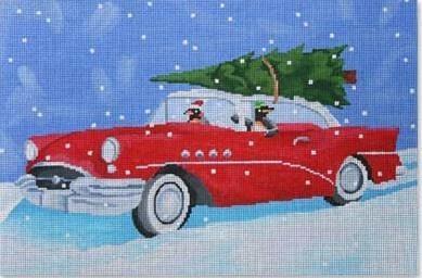cruisin' christmas penguins*