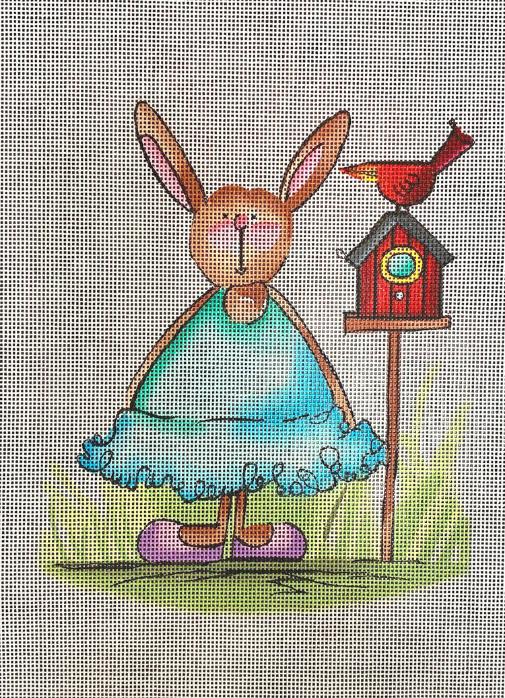 rabbit w bird