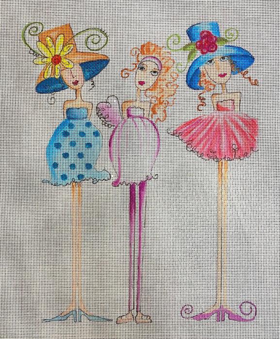 three ladies, too