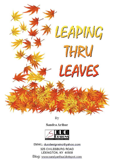 leaping thru leaves