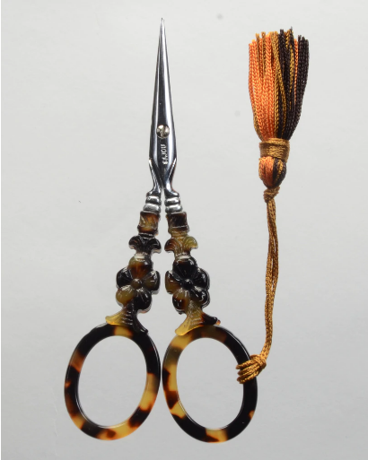ecaille scissors, floral