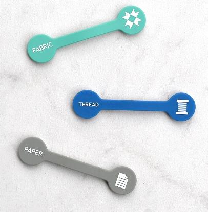 scissor id  tags, 3 pack