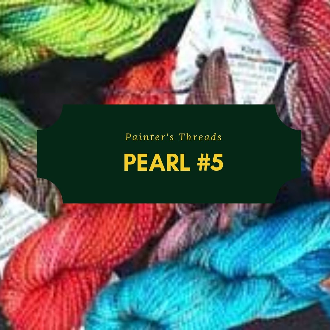 painter's threads pearl #5