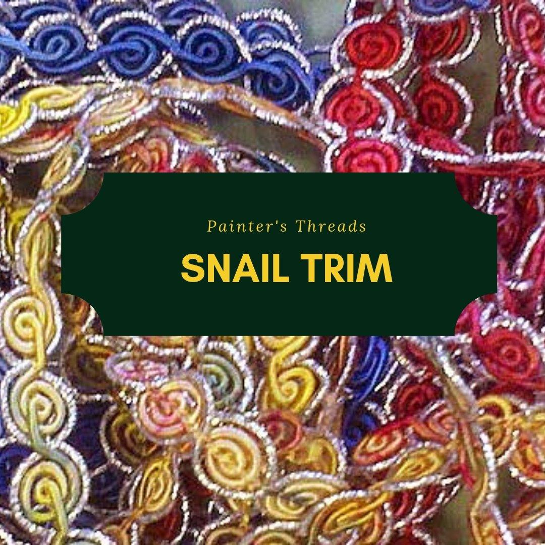painter's threads snail trim
