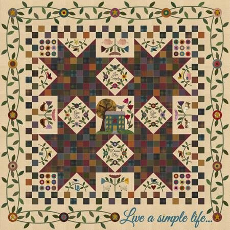 Live a Simple Life Block of the Month