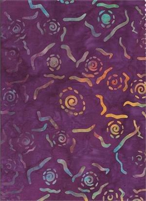 Key West Contempo Purple #2350 by Batik Textiles