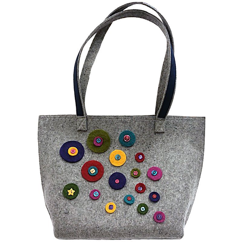 Wooly Felted Large Tote Bag KIT