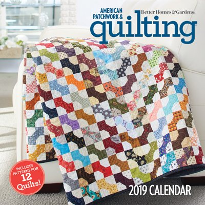 APQ 2019 Calendar and Pattern Booklet