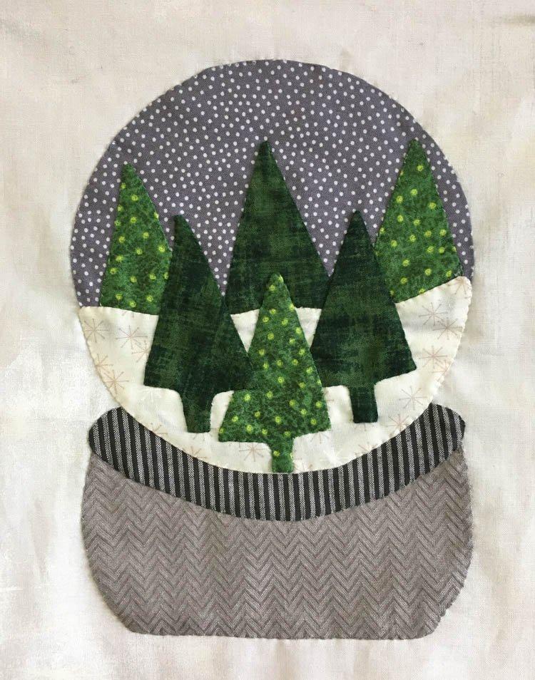 January 2018 Snow Globe Kit Cotton