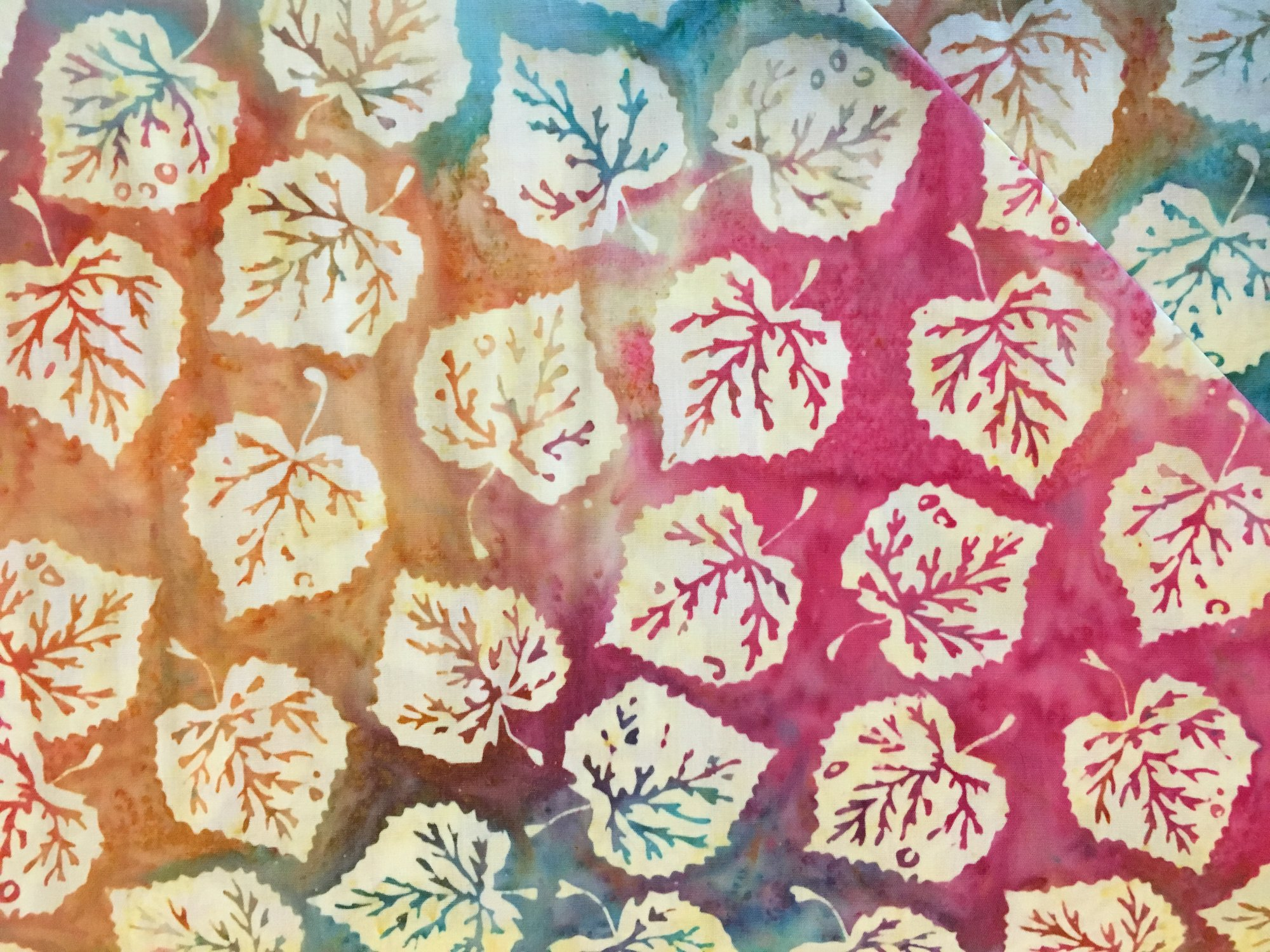 Colorado Shop Hop 2018 Aspen Leaves Multi