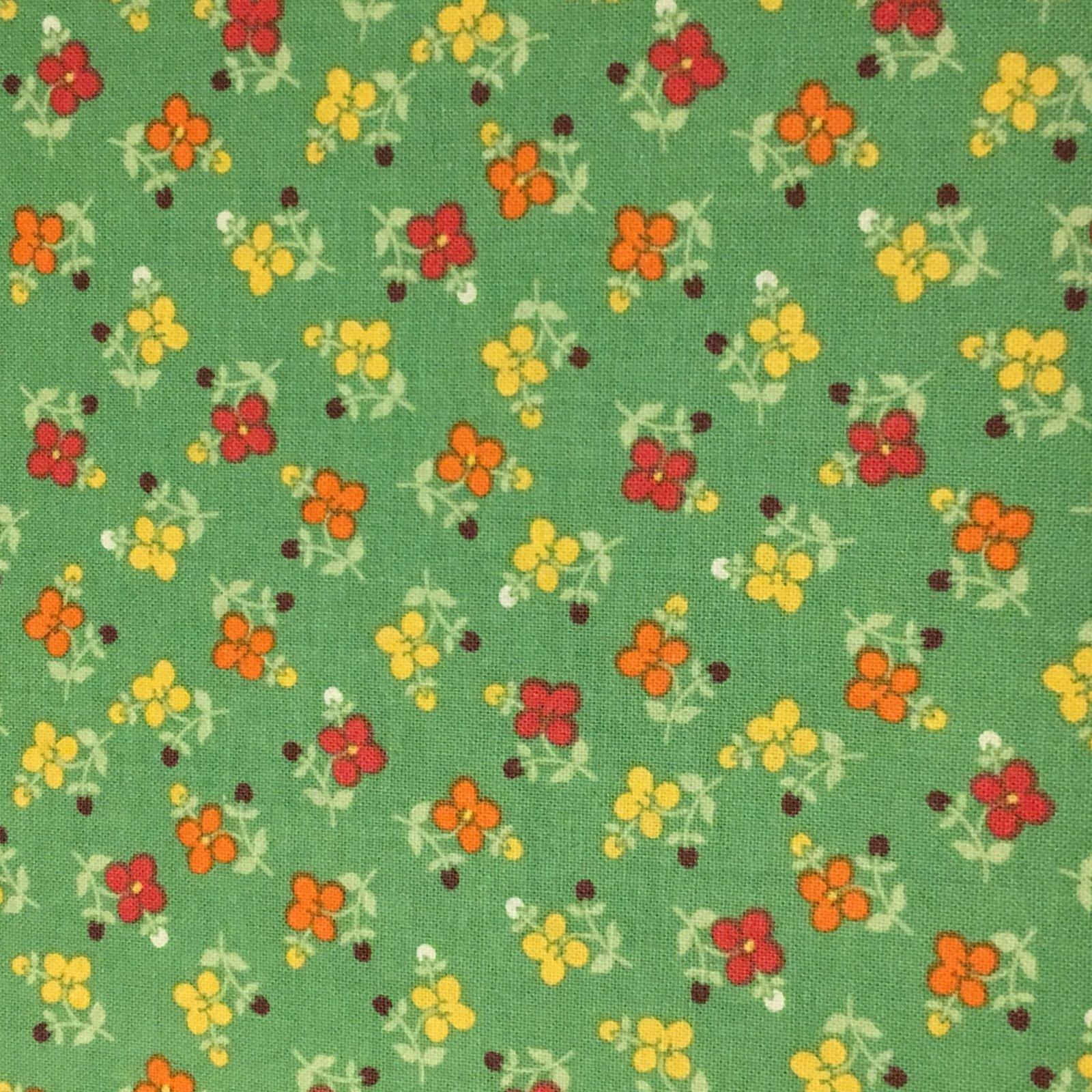 El Camino Real Green Floral