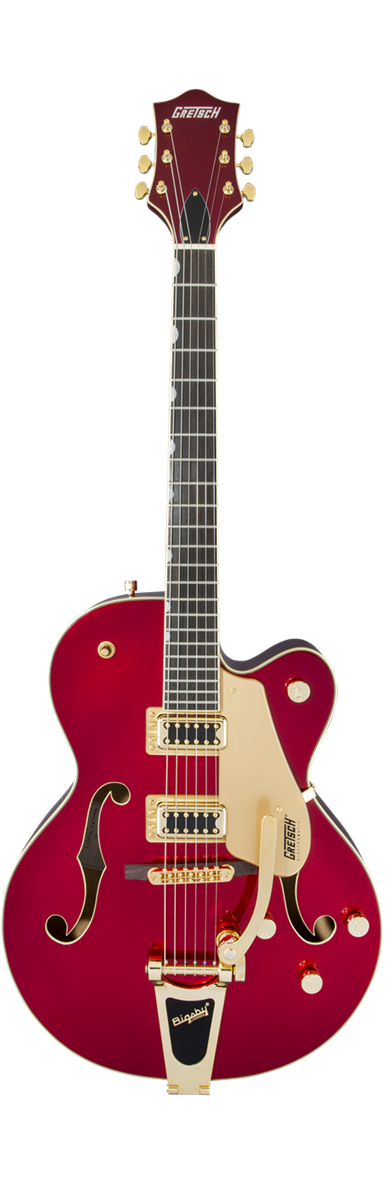 G5420TG LIMITED EDITION ELECTROMATIC HOLLOW BODY WITH BIGSBY AND GOLD HARDWARE CANDY APPLE RED