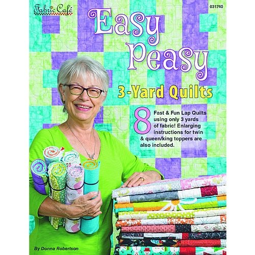 Easy Peasy 3 yard Quilt Book