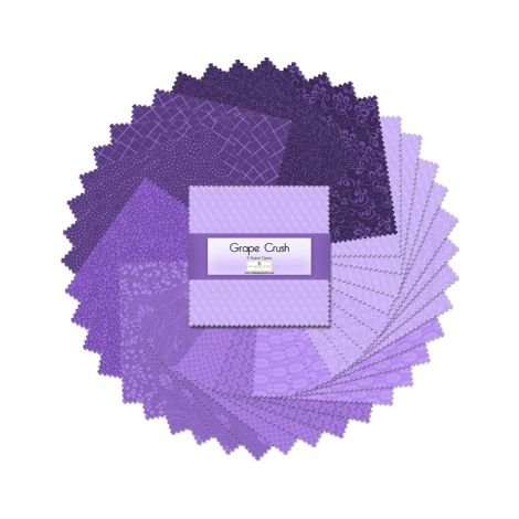 Grape Crush - 5 Squares of Essentials