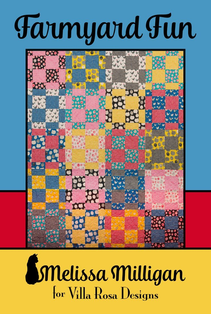 Quilt Pattern- Farmyard Fun