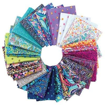 Solstice Fat Quarters by Sally Kelly