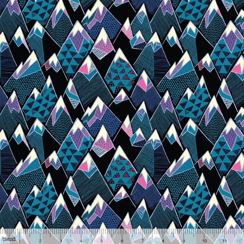 Panda Bamboo Mtn - Panda Forest - Katy Tanis - Blend Fabrics