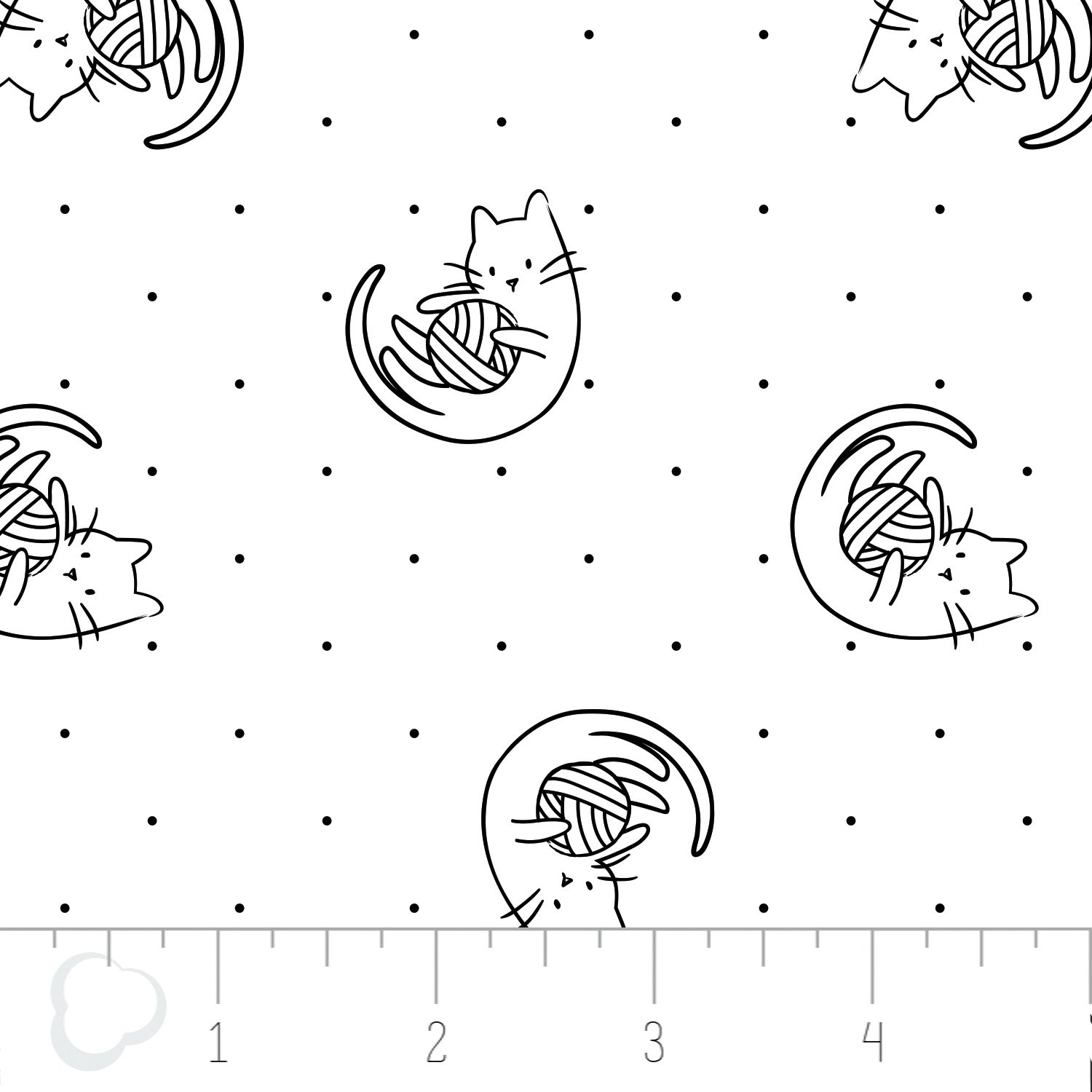 Playtime - Meow Collection - Camelot Design Studio - Camelot Fabrics
