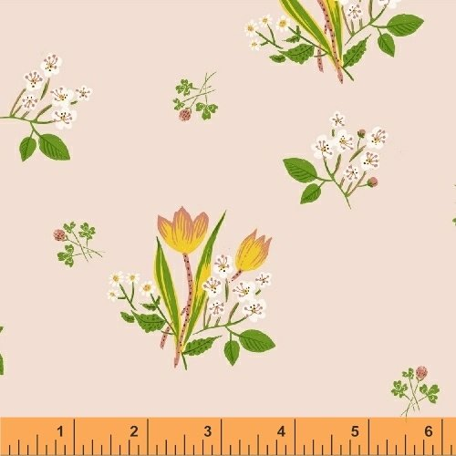 Springs Blooms - Kinder - Heather Ross - Windham Fabrics